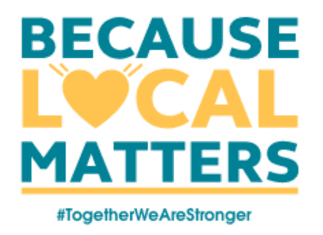 Because Local Matters #TogetherWeAreStronger